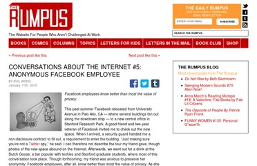 http://therumpus.net/2010/01/conversations-about-the-internet-5-anonymous-facebook-employee/