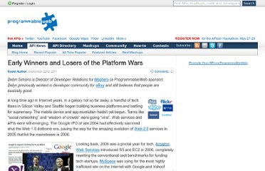 http://blog.programmableweb.com/2011/09/22/early-winners-and-losers-of-the-platform-wars/