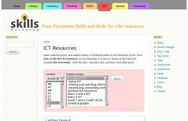 http://www.skillsworkshop.org/ict?op=or&tid%5B%5D=46&term_node_tid_depth%5B%5D=954