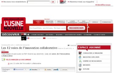 http://www.usinenouvelle.com/article/les-12-voies-de-l-innovation-collaborative.N157714