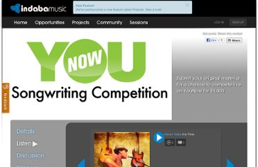 http://www.indabamusic.com/opportunities/younow-songwriting-competition/submissions/75825