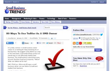 http://smallbiztrends.com/2010/01/how-to-use-twitter-as-a-smb-owner.html