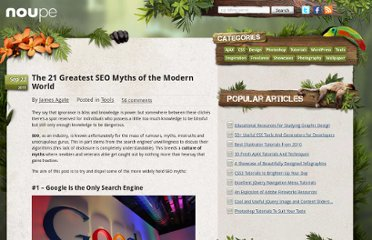 http://www.noupe.com/tools/the-21-greatest-seo-myths-of-the-modern-world.html