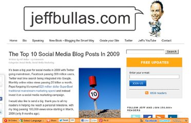 http://www.jeffbullas.com/2010/01/10/the-top-10-social-media-blog-posts-in-2009/