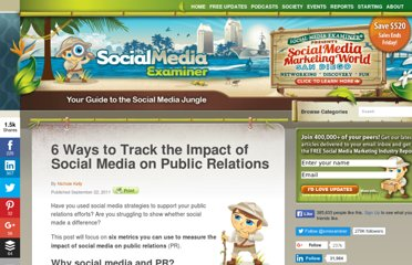 http://www.socialmediaexaminer.com/6-ways-to-track-the-impact-of-social-media-on-public-relations/