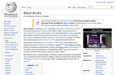 http://en.wikipedia.org/wiki/Black_Books
