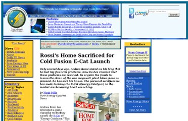 http://pesn.com/2011/09/21/9501918_Rossis_Home_Sacrificed_For_Cold_Fusion_E-Cat_Launch/
