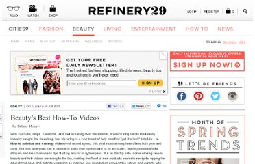 http://www.refinery29.com/best-hair-styles-makeup-how-to-videos