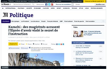 http://www.lemonde.fr/politique/article/2011/09/22/des-magistrats-accusent-l-elysee-d-avoir-viole-le-secret-de-l-instruction_1576288_823448.html#xtor=AL-32280258