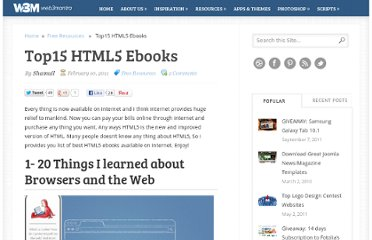 http://www.web3mantra.com/2011/02/10/top15-html5-ebooks/