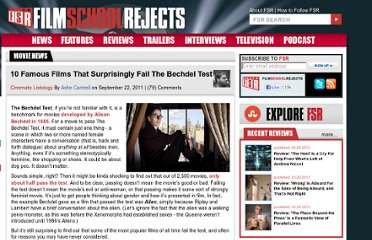 http://www.filmschoolrejects.com/features/10-famous-films-that-surprisingly-fail-the-bechdel-test.php