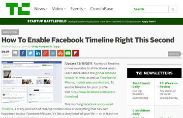 http://techcrunch.com/2011/09/22/how-to-enable-facebook-timeline/