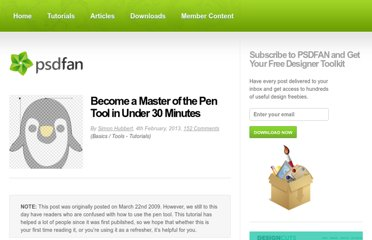http://psd.fanextra.com/tutorials/become-a-master-of-the-pen-tool-in-under-30-minutes/
