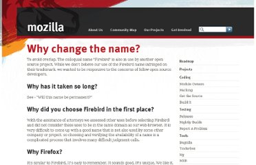 http://www.mozilla.org/projects/firefox/firefox-name-faq.html
