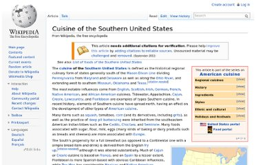 http://en.wikipedia.org/wiki/Cuisine_of_the_Southern_United_States