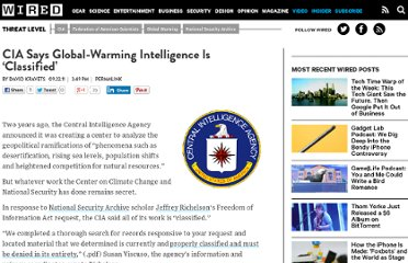 http://www.wired.com/threatlevel/2011/09/cia-classifies-global-warming-intelligence/