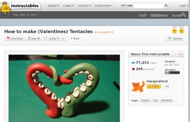 http://www.instructables.com/id/How-to-make-Valentines-Tentacles/