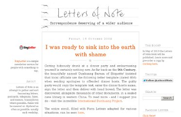 http://www.lettersofnote.com/2009/10/i-was-ready-to-sink-into-earth-with.html