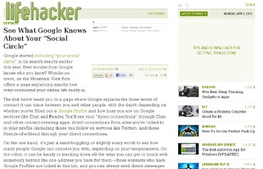 http://lifehacker.com/5607980/see-what-google-knows-about-your-social-circle