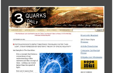 http://www.3quarksdaily.com/3quarksdaily/2011/09/particle-physicists-detect-neutrinos-travelling-faster-than-light-a-feat-forbidden-by-einsteins-theo.html