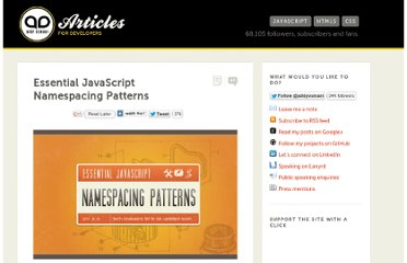 http://addyosmani.com/blog/essential-js-namespacing/