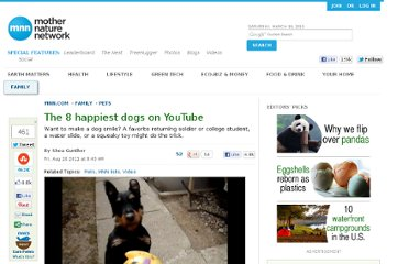 http://www.mnn.com/family/pets/stories/the-8-happiest-dogs-on-youtube