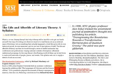 http://www.themillions.com/2011/09/the-life-and-afterlife-of-literary-theory-a-syllabus.html