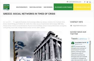 http://socialmediaclub.fr/2011/06/greece-social-networks-in-times-of-crisis/