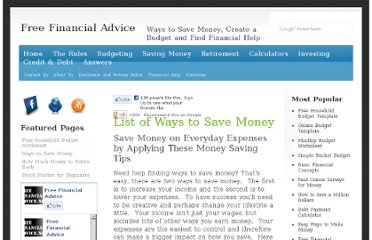 http://www.free-financial-advice.net/save-money.html