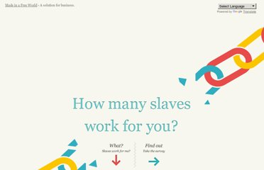 http://slaveryfootprint.org/#where_do_you_live