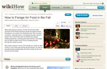 http://www.wikihow.com/Forage-for-Food-in-the-Fall