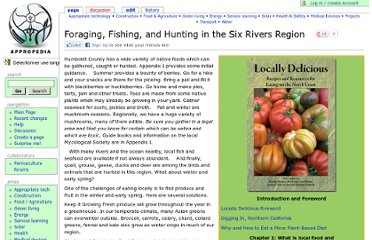 http://www.appropedia.org/Foraging,_Fishing,_and_Hunting_in_the_Six_Rivers_Region