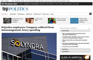 http://www.washingtonpost.com/politics/solyndra-employees-company-suffered-from-mismanagement-heavy-spending/2011/09/20/gIQAMHC3lK_story.html
