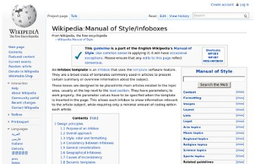 http://en.wikipedia.org/wiki/Wikipedia:Manual_of_Style/Infoboxes