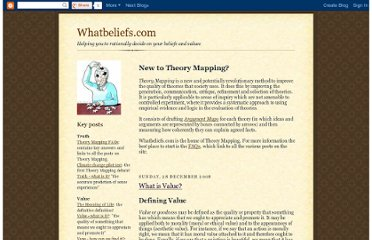http://reallyusefulphilosophy.blogspot.com/2008/12/what-is-value.html