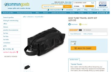 http://www.uncommongoods.com/product/bike-tube-travel-dopp-kit