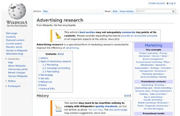 http://en.wikipedia.org/wiki/Advertising_research