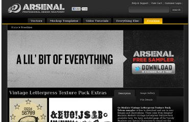 http://arsenal.gomedia.us/freebies.html
