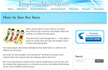 http://www.exploremeditation.com/how-to-see-aura/