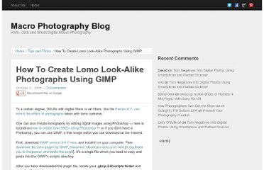 http://macro-photography-blog.com/2009/10/11/how-to-create-lomo-photographs-using-gimp/