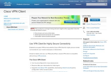 http://www.cisco.com/en/US/products/sw/secursw/ps2308/index.html