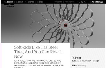 http://www.fastcodesign.com/1665045/soft-ride-bike-has-steel-tires-and-you-can-ride-it-now