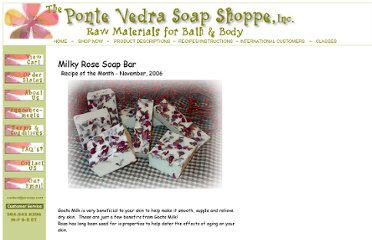 http://www.pvsoap.com/recipe_milky_rose_soap_bar.htm