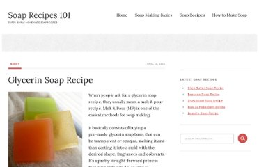 http://www.soaprecipes101.com/homemade-soap-recipes/glycerin-soap-recipe/