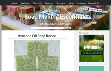 http://www.soap-making-essentials.com/avocado-oil-soap.html