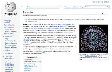 http://en.wikipedia.org/wiki/Beauty