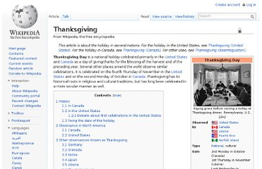 http://en.wikipedia.org/wiki/Thanksgiving