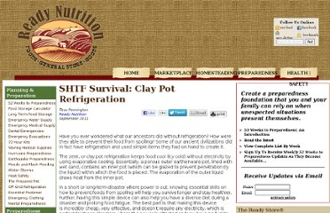 http://readynutrition.com/resources/shtf-survival-clay-pot-refrigeration_22092011/