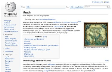 http://en.wikipedia.org/wiki/Youth