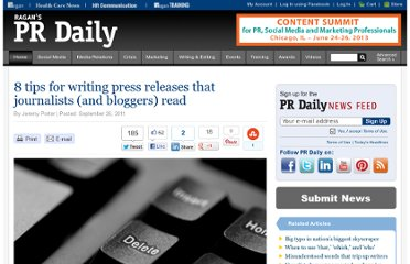 http://www.prdaily.com/Main/Articles/8_tips_for_writing_press_releases_that_journalists_9570.aspx